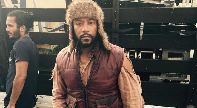 Comedian and actor Ricky Harris