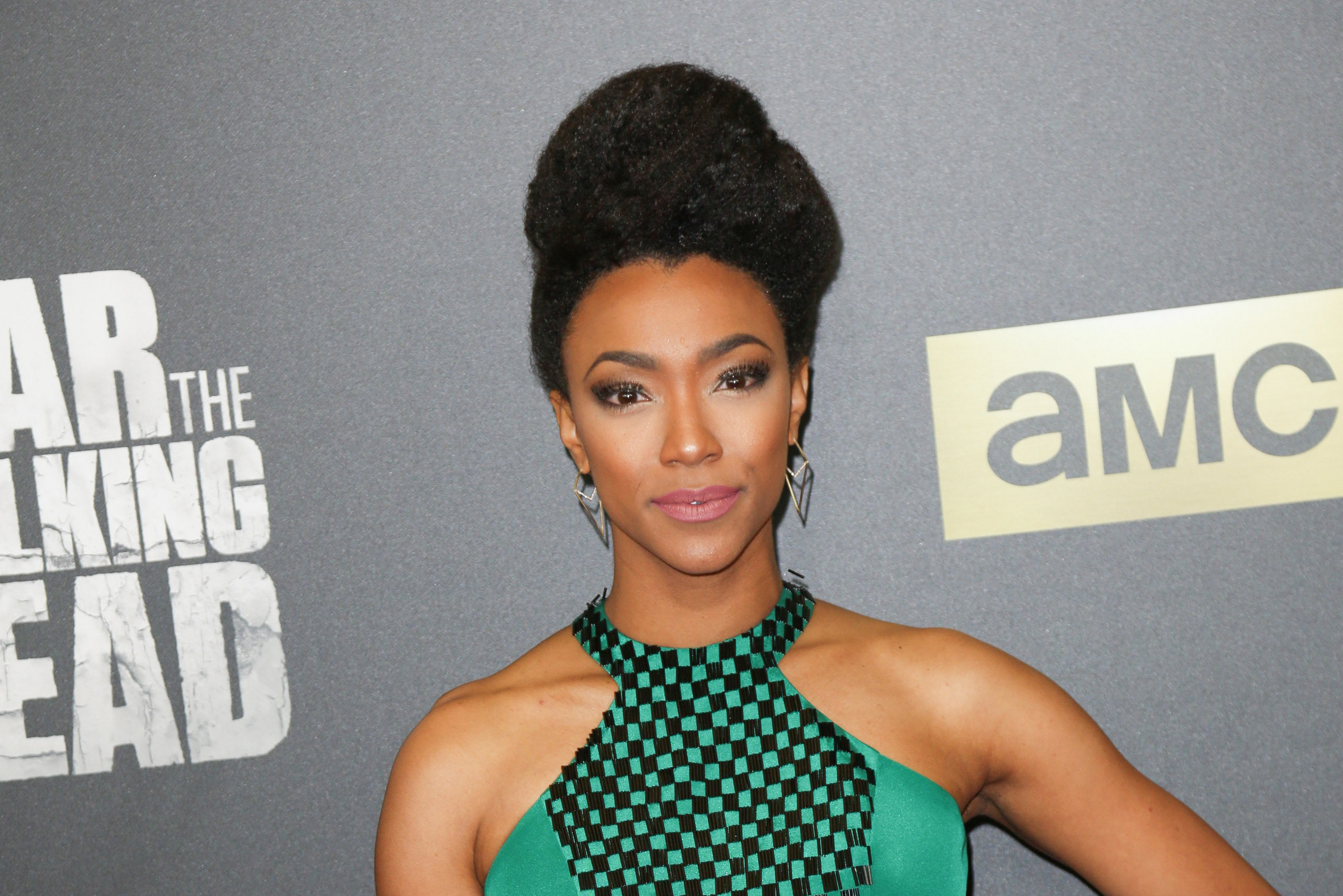 "03/29/2016 - Sonequa Martin-Green - ""Fear the Walking Dead"" TV Series Season 2 Los Angeles Premiere - Arrivals - Cinemark Playa Vista and XD, 12746 W Jefferson Boulevard - Los Angeles, CA, USA - Keywords: Vertical, Portrait, Photography, Television Series Premiere, Film Industry, Red Carpet Event, Arts Culture and Entertainment, Arrival, Attending, Person, People, Celebrity, Celebrities, Topix, Bestof, Drama, Horror, Zombies, Apocalypse, AMC, California Orientation: Portrait Face Count: 1 - False - Photo Credit: Guillermo Proano / PR Photos - Contact (1-866-551-7827) - Portrait Face Count: 1"