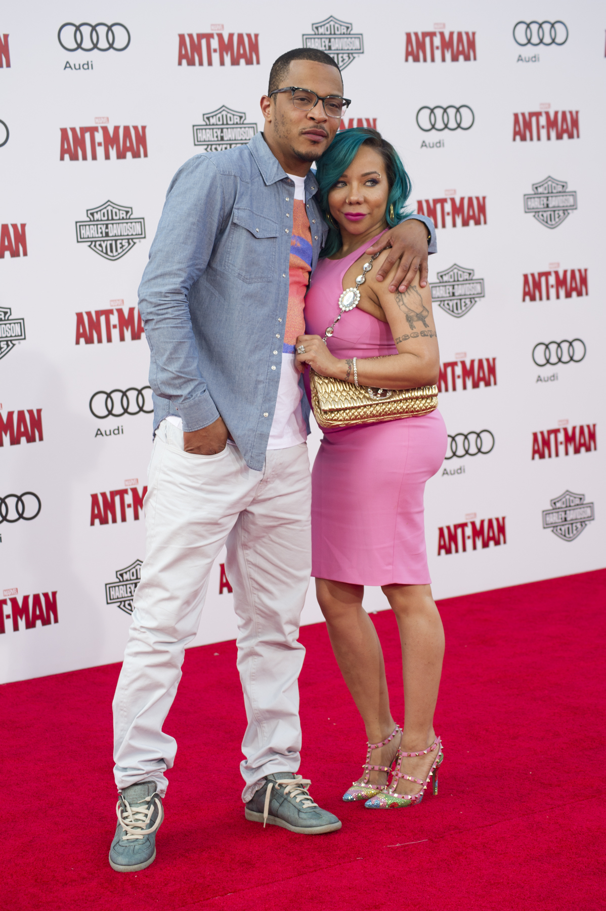 "06/29/2015 - Tip ""T.I."" Harris, Tameka ""Tiny"" Cottle - ""Ant-Man"" Los Angeles Premiere - Arrivals - Dolby Theatre - Hollywood, CA, USA - Keywords: Tip 'TI' Harris, Tip Harris, Tameka Cottle, Tameka 'Tiny' Cottle, Tameka Cottle, Tameka ""Tiny"" Cottle, Marvel Comics, Person, Exclusive, Film Industry, Movie, Arts Culture and Entertainment, Celebrities, Topix, Bestof, Celebrity Orientation: Portrait Face Count: 1 - - Photo Credit: Sarah Anderson/AS / PRPhotos.com - Contact (1-866-551-7827) - Portrait Face Count: 1"