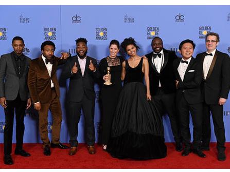 The cast of 'Atlanta'