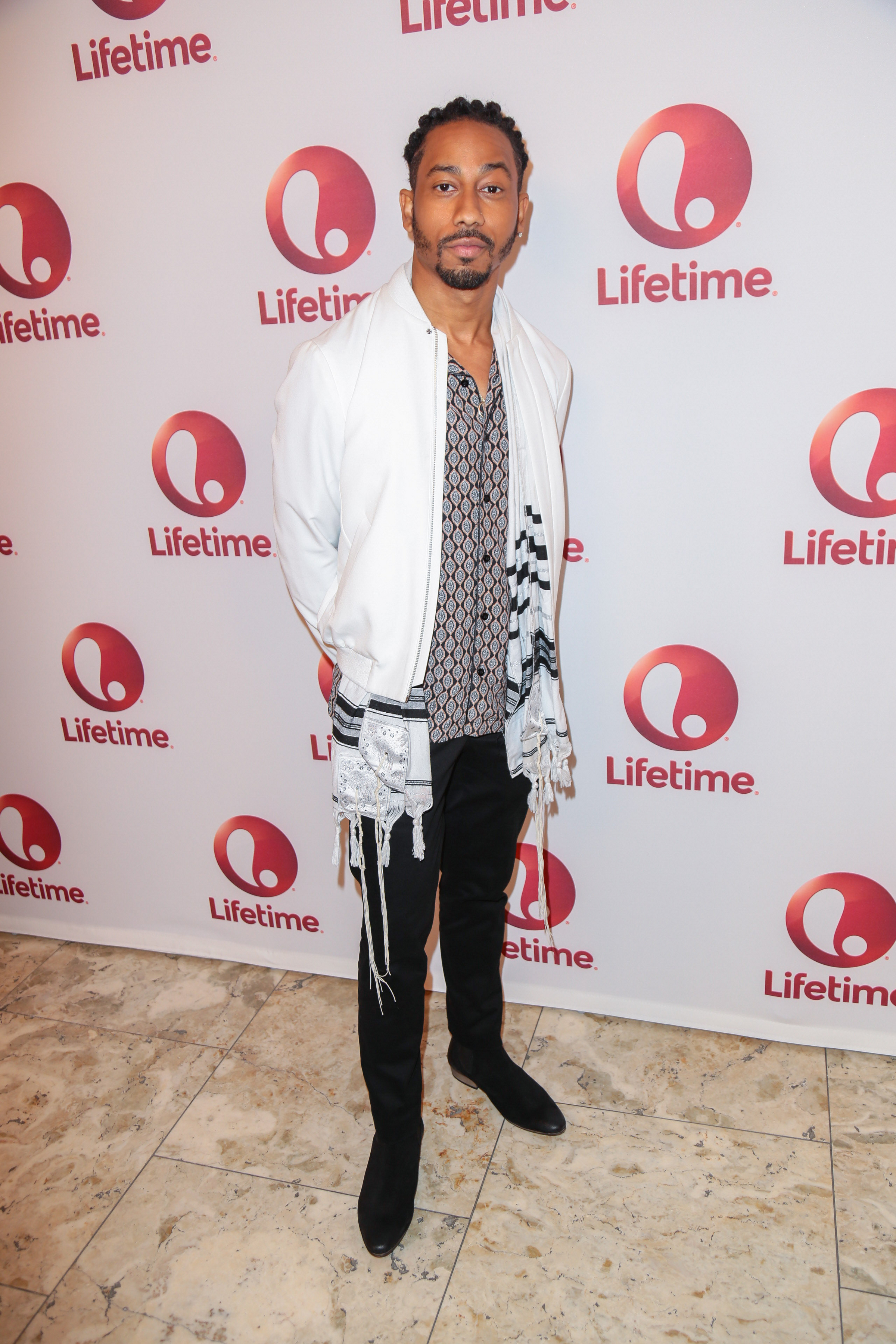 "01/23/2017 - Brandon T. Jackson - ""Love by the 10th Date"" Los Angeles Red Carpet Screening and Panel Event - The London West Hollywood at Beverly Hills, 1020 N San Vicente Boulevard - West Hollywood, CA, USA - Keywords: Vertical, Arrival, Attending, People, Person, Television Movie, Portrait, Photography, Film Industry, Arts Culture and Entertainment, Celebrity, Celebrities, Red Carpet Event, Comedy, TV Movie, Lifetime, Los Angeles, California Orientation: Portrait Face Count: 1 - False - Photo Credit: Guillermo Proano / PR Photos - Contact (1-866-551-7827) - Portrait Face Count: 1"