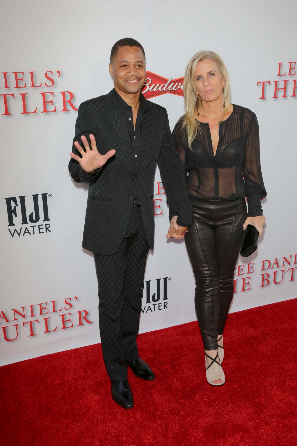 "08/12/2013 - Cuba Gooding Jr. and wife Sara Kapfer - ""The Butler"" Los Angeles Premiere - Arrivals - Regal Cinemas L.A. Live - Los Angeles, CA, USA - Keywords: LEE DANIELS' ""THE BUTLER"" Los Angeles Premiere red carpet Arrivals, Hosted by TWC, Budweiser, FIJI Water, Purity Vodka, Stack Wines Orientation: Portrait Face Count: 1 - False - Photo Credit: Andrew Evans / PR Photos - Contact (1-866-551-7827) - Portrait Face Count: 1"