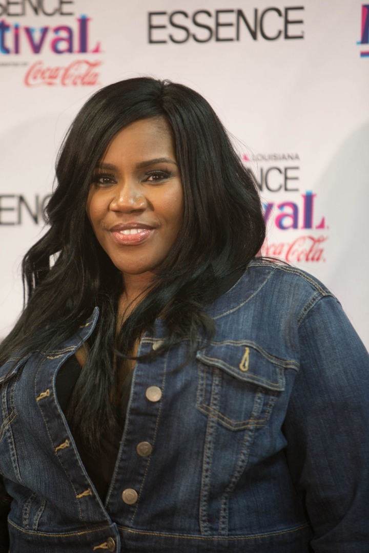 Kelly Price - honorary member of Sigma Gamma Rho