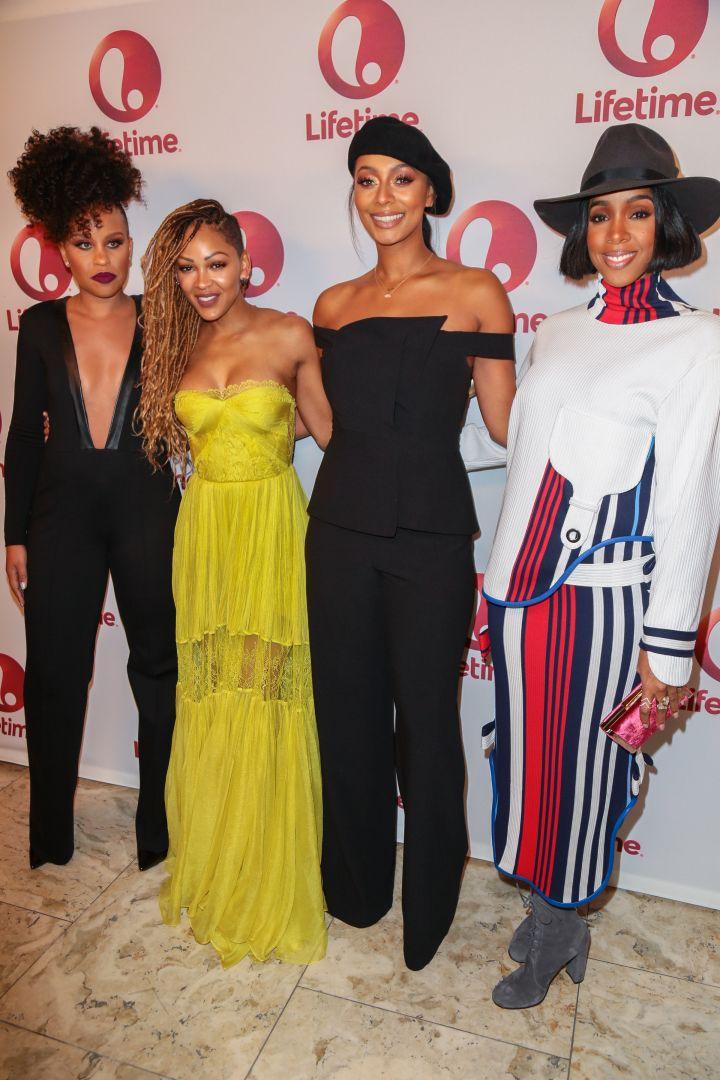 Kellee Stewart, Meagan Good, Keri Hilson, Kelly Rowland