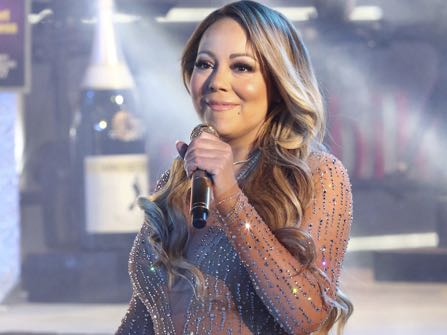 Mariah Carey performs at the New Year's Eve celebration in Times Square on Saturday, Dec. 31, 2016, in New York. (Photo by Greg Allen/Invision/AP)