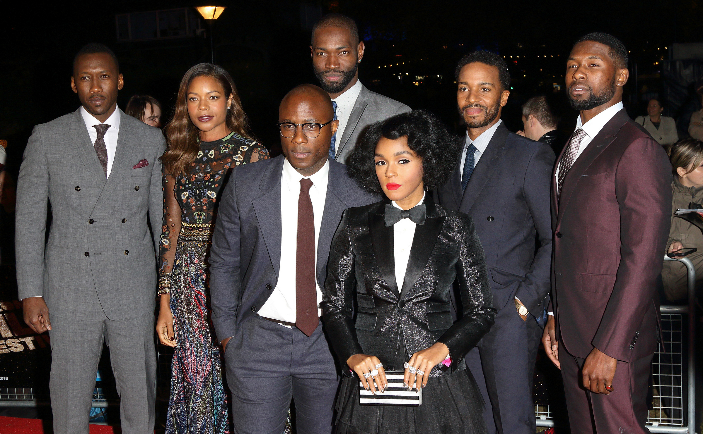 "10/06/2016 - Mahershala Ali, Naomie Harris, Tarell Alvin McCraney, Barry Jenkins, Janelle Monae, Andre Holland, Trevante Rhodes - 60th Annual BFI London Film Festival - ""Moonlight "" Competition Screening - Arrivals - Embankment Garden Cinema, Villiers Street - London, UK - Keywords: Horizontal, LFF, London Film Festival, People, Person, Film Industry, Red Carpet Event, Arts Culture and Entertainment, Attending, Celebrity, Celebrities, Annual Event, United Kingdom, Britain, England, Ref: LMK73-61096-071016 Orientation: Portrait Face Count: 1 - False - Photo Credit: Landmark / PR Photos - Contact (1-866-551-7827) - Portrait Face Count: 1"