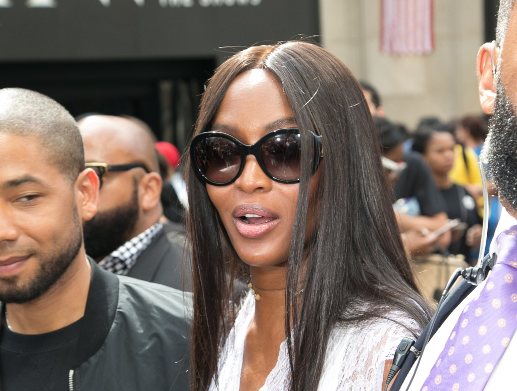 09/11/2016 - Naomi Campbell - New York Fashion Week S/S 2017 - Hood by Air - Departures - Moynihan Station - New York City, NY, USA - Keywords: Orientation: Portrait Face Count: 1 - False - Photo Credit: John Nacion Imaging / PRPhotos.com - Contact (1-866-551-7827) - Portrait Face Count: 1