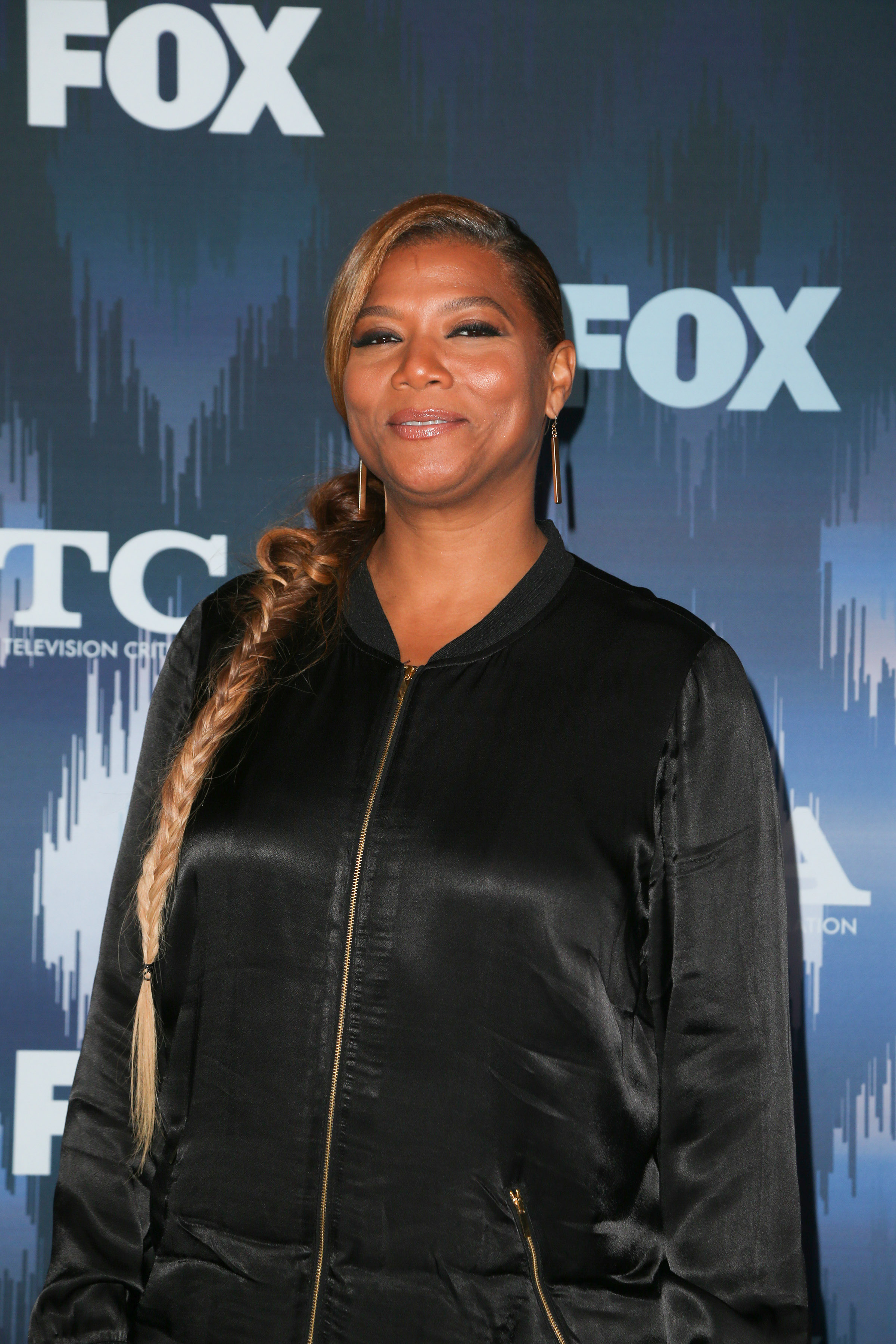 01/11/2017 - Queen Latifah - 2017 Winter TCA Tour - Fox All-Star Party - Arrivals - Langham Hotel - Pasadena, CA, USA - Keywords: Vertical, Radio, Theatrical Performance, California, Television Show, Arrival, Portrait, Photography, Arts Culture and Entertainment, Celebrities, Celebrity, Person, People, Publicity Event, Topix, Bestof Orientation: Portrait Face Count: 1 - False - Photo Credit: PRPhotos.com - Contact (1-866-551-7827) - Portrait Face Count: 1