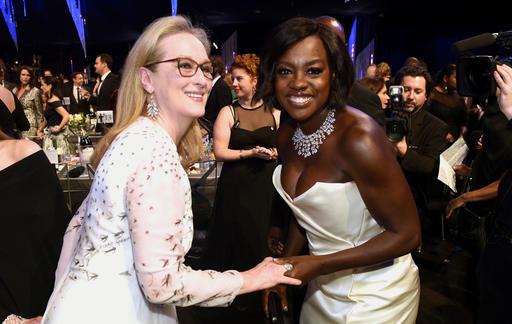 Meryl Streep and Viola Davis
