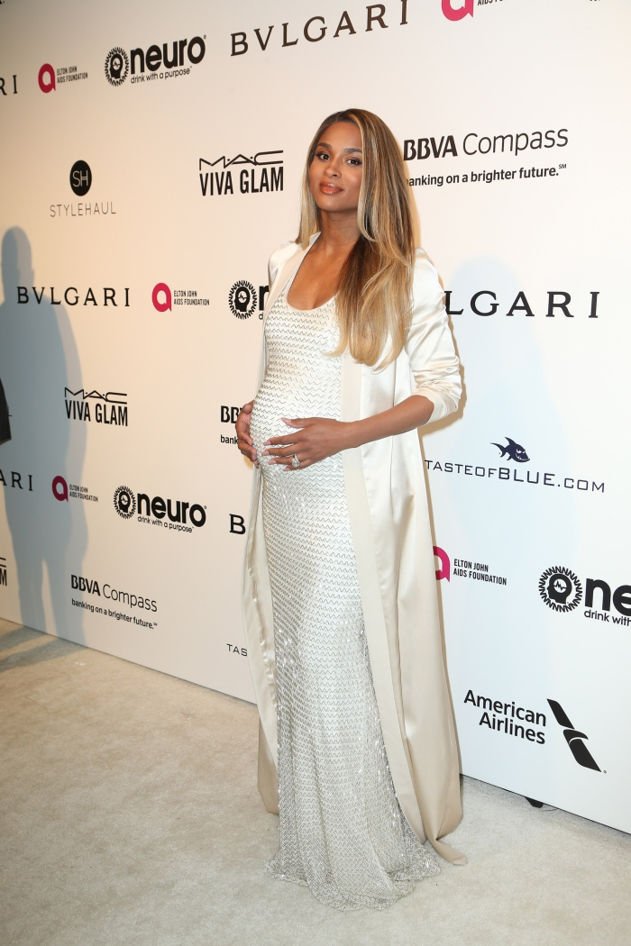 Ciara Hits First Red Carpet Since Birth Of Daughter Sienna Black