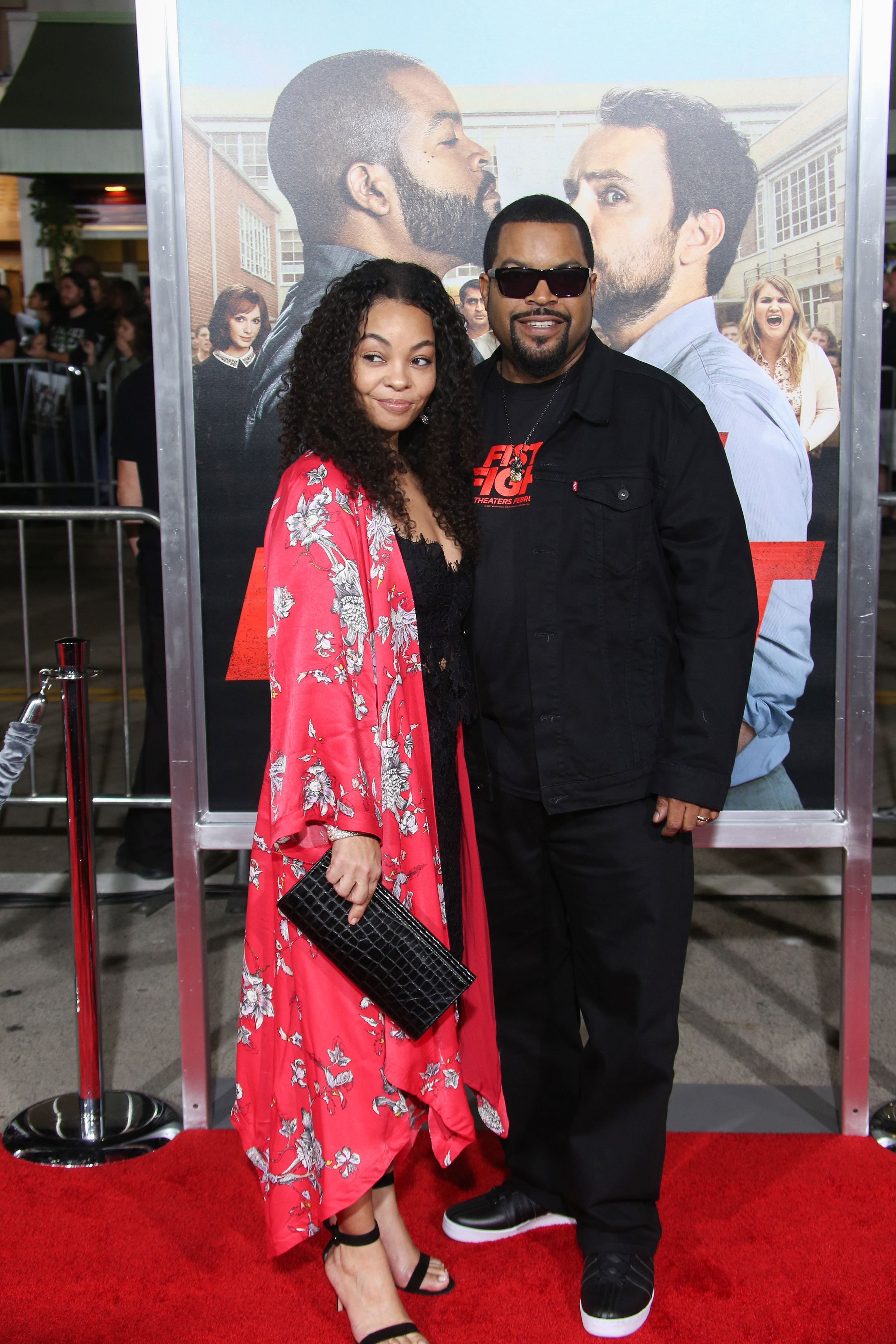 "02/13/2017 - Ice Cube, Kimberly Woodruff - ""Fist Fight"" Los Angeles Premiere - Arrivals - Regency Village Theater - Westwood, CA, USA - Keywords: Vertical, Comedy, Red Carpet Event, Person, People, Movie Premiere, Film Industry, Arrival, Portrait, Photography, Arts Culture and Entertainment, Celebrity, Celebrities, City of Los Angeles, California Orientation: Portrait Face Count: 1 - False - Photo Credit: PRPhotos.com - Contact (1-866-551-7827) - Portrait Face Count: 1"