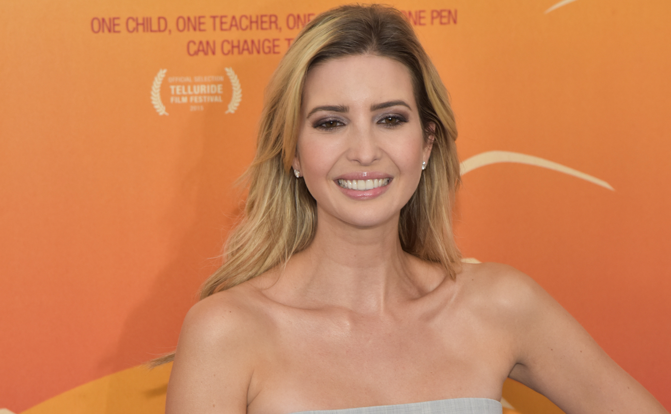 "09/24/2015 - Ivanka Trump - ""He Named Me Malala"" New York City Premiere - Arrivals - Ziegfeld Theatre - New York City, NY, USA - Keywords: Orientation: Portrait Face Count: 1 - False - Photo Credit: Loredana Sangiuliano / PR Photos / PRPhotos.com - Contact (1-866-551-7827) - Portrait Face Count: 1"