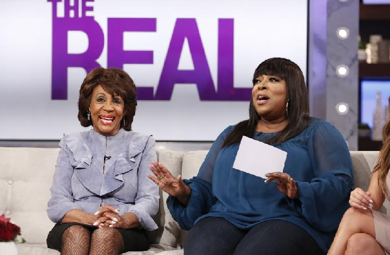 Congresswoman Maxine Waters Keeps It Real About Trump On 'The Real'...