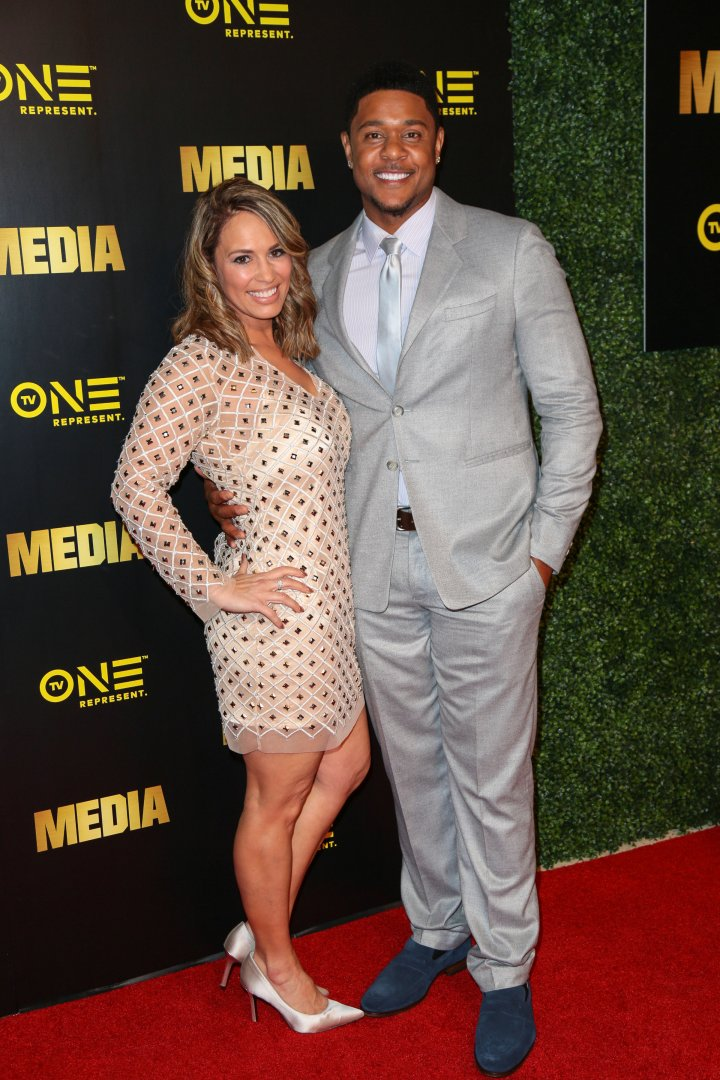 Pooch Hall and his wife