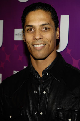 "Actor Taimak Guarriello attends the premiere of BETs ""Real Life Divas"" at Merkato 55 on October 23, 2008 in New York City Premiere of BETs ""Real Life Divas"" Merkato 55 New York, NY United States October 23, 2008 Photo by Gary Gershoff/WireImage.com To license this image (56026243), contact WireImage.com"