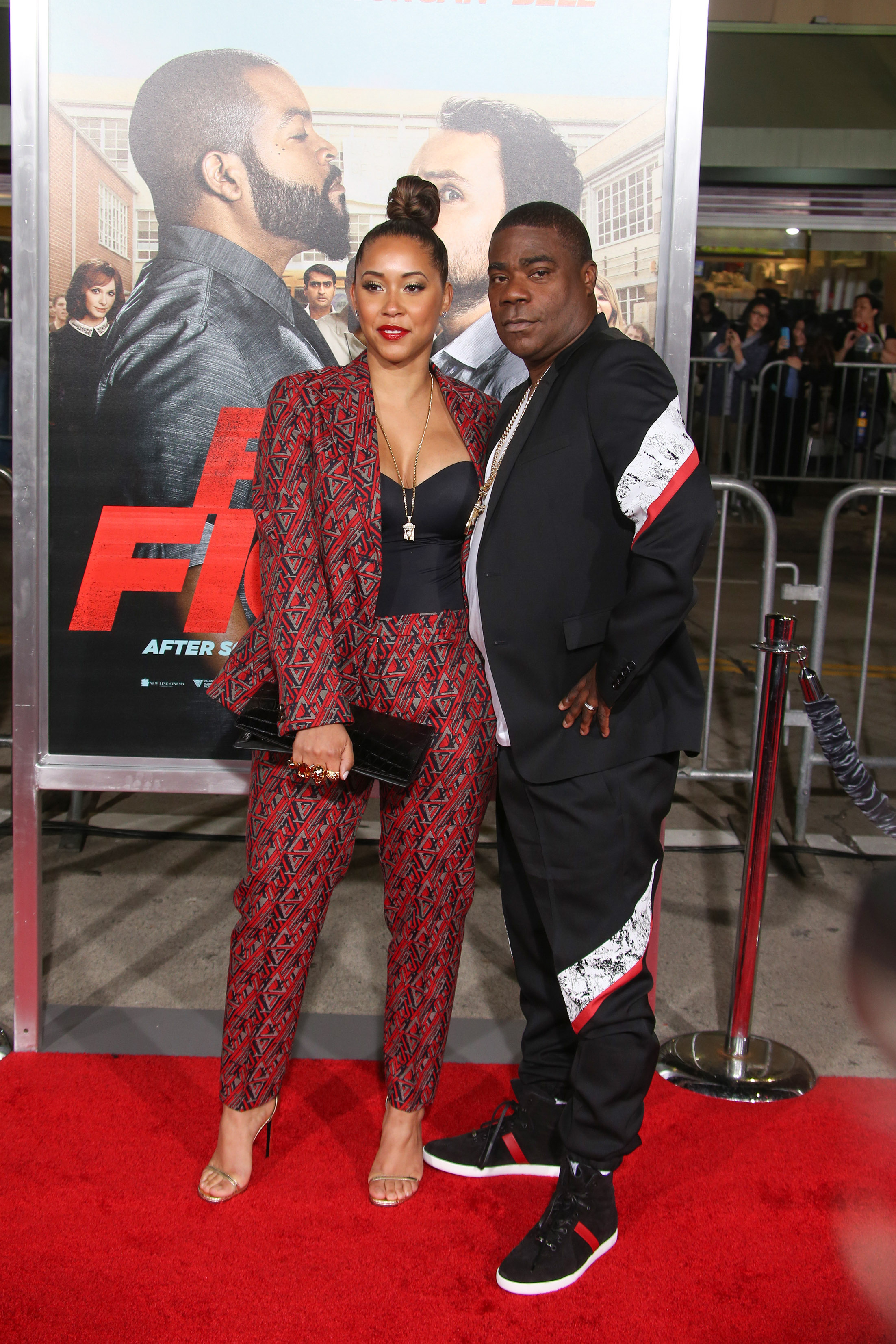 "02/13/2017 - Megan Wollover, Tracy Morgan - ""Fist Fight"" Los Angeles Premiere - Arrivals - Regency Village Theater - Westwood, CA, USA - Keywords: Vertical, Comedy, Red Carpet Event, Person, People, Movie Premiere, Film Industry, Arrival, Portrait, Photography, Arts Culture and Entertainment, Celebrity, Celebrities, City of Los Angeles, California Orientation: Portrait Face Count: 1 - False - Photo Credit: PRPhotos.com - Contact (1-866-551-7827) - Portrait Face Count: 1"