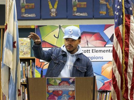 Chance The Rapper (April 16)