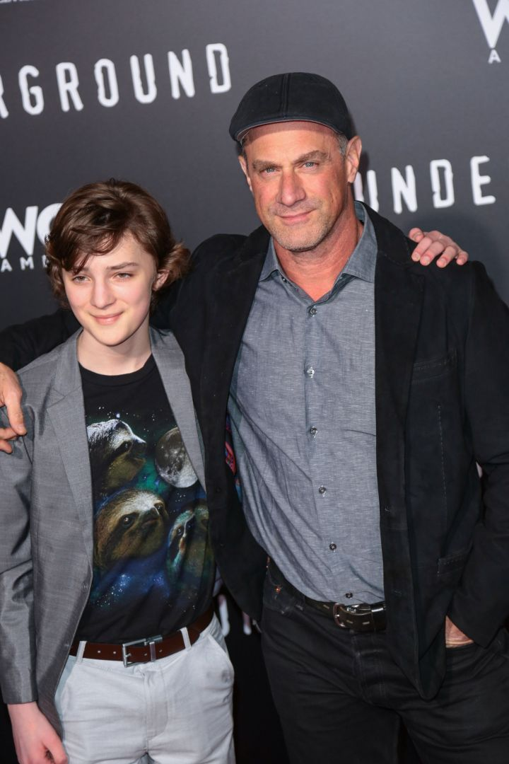 Toby Nichols and Christopher Meloni