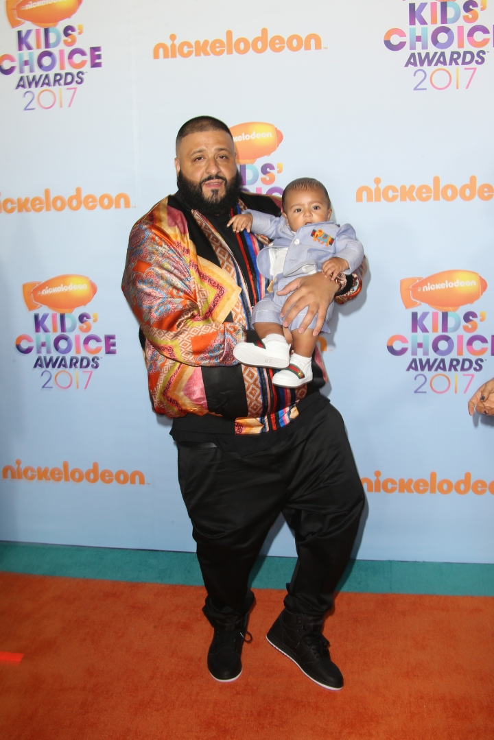 DJ Khaled and his son