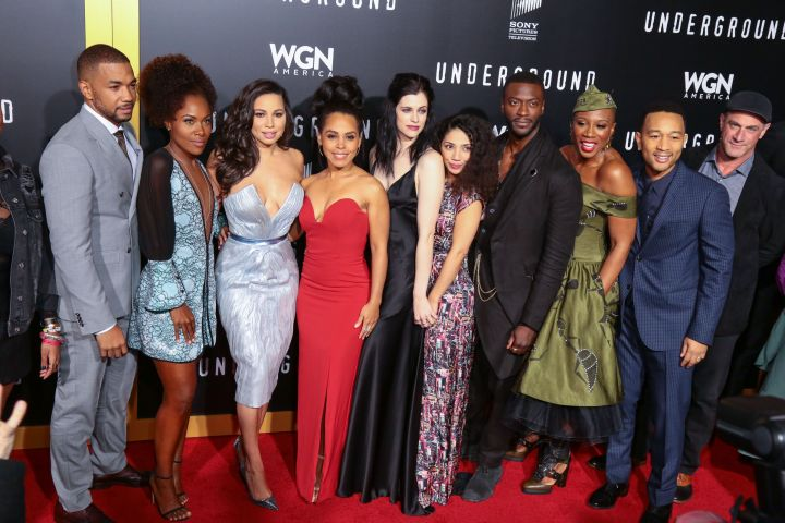 The cast of 'Underground'
