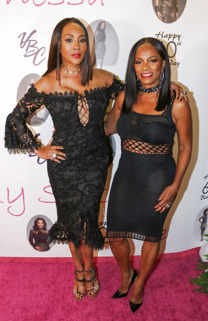 Vivica Fox and Vanessa Bell Calloway