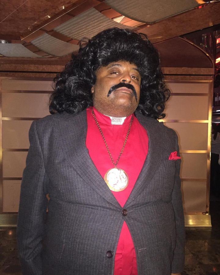 It's Roland Martin….as old-school Al Sharpton.