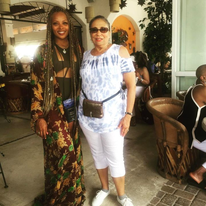 Eva Marceille with Radio One founder Ms. Cathy Hughes