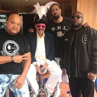 DJ Hurricane, Tom, D.O.C. and MC Ren.