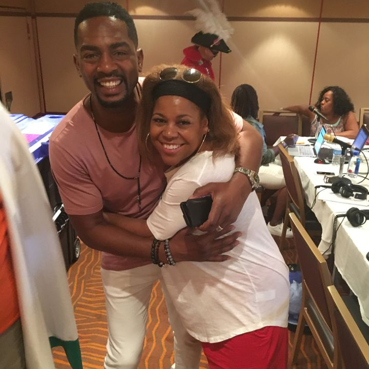 Bill Bellamy and Sybil Wilkes