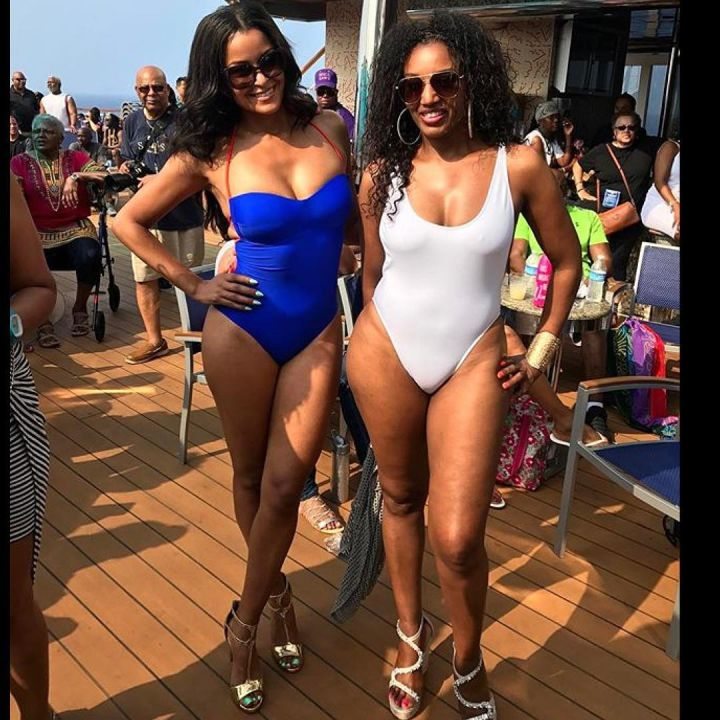 This cruise is full of lovely ladies like Claudia Jordan, c'mon fellas where's your hot pics?