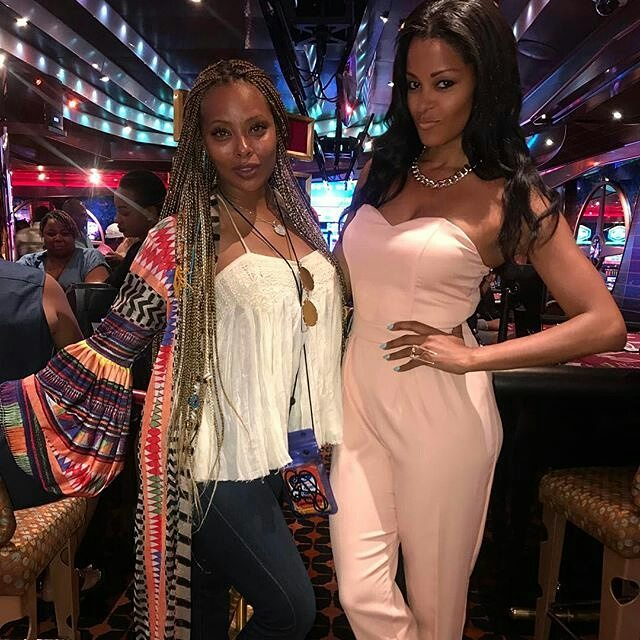 Eva Marceille and Claudia Jordan.