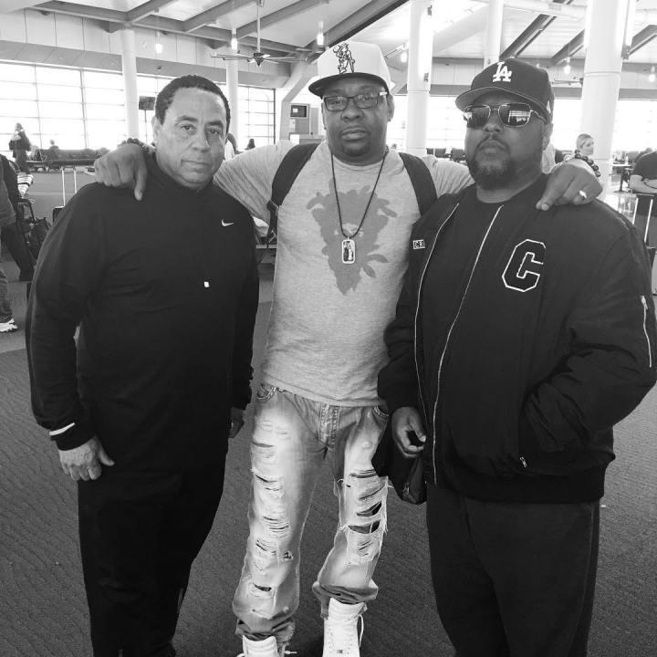 DJ Yella, Bobby Brown and MC Ren