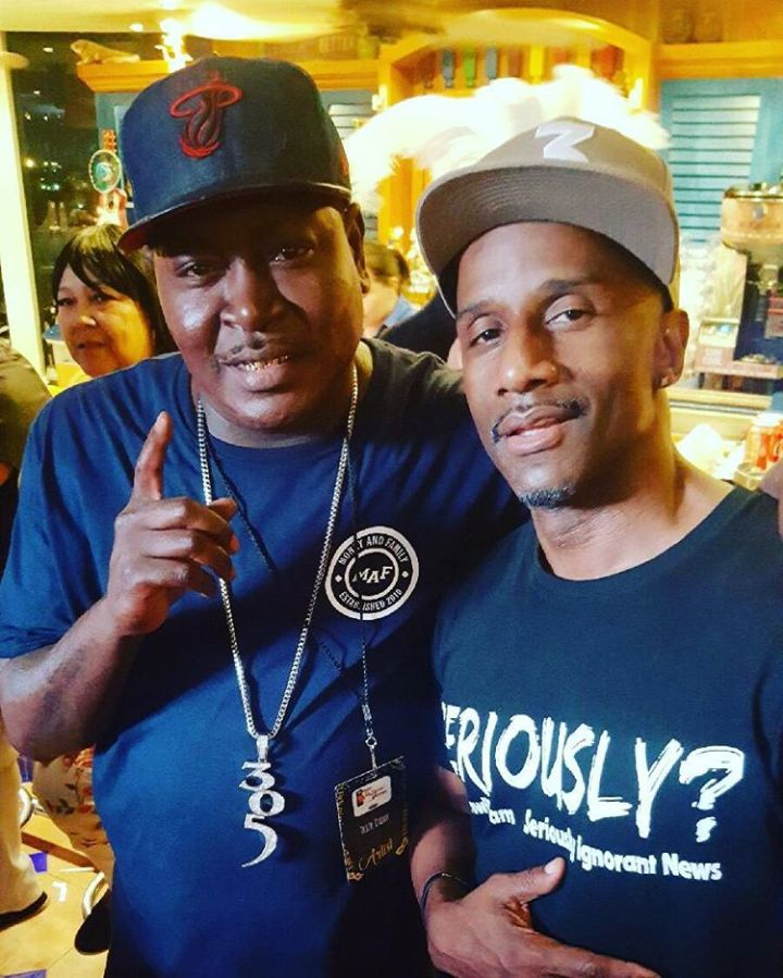 Trick Daddy and Damon Williams