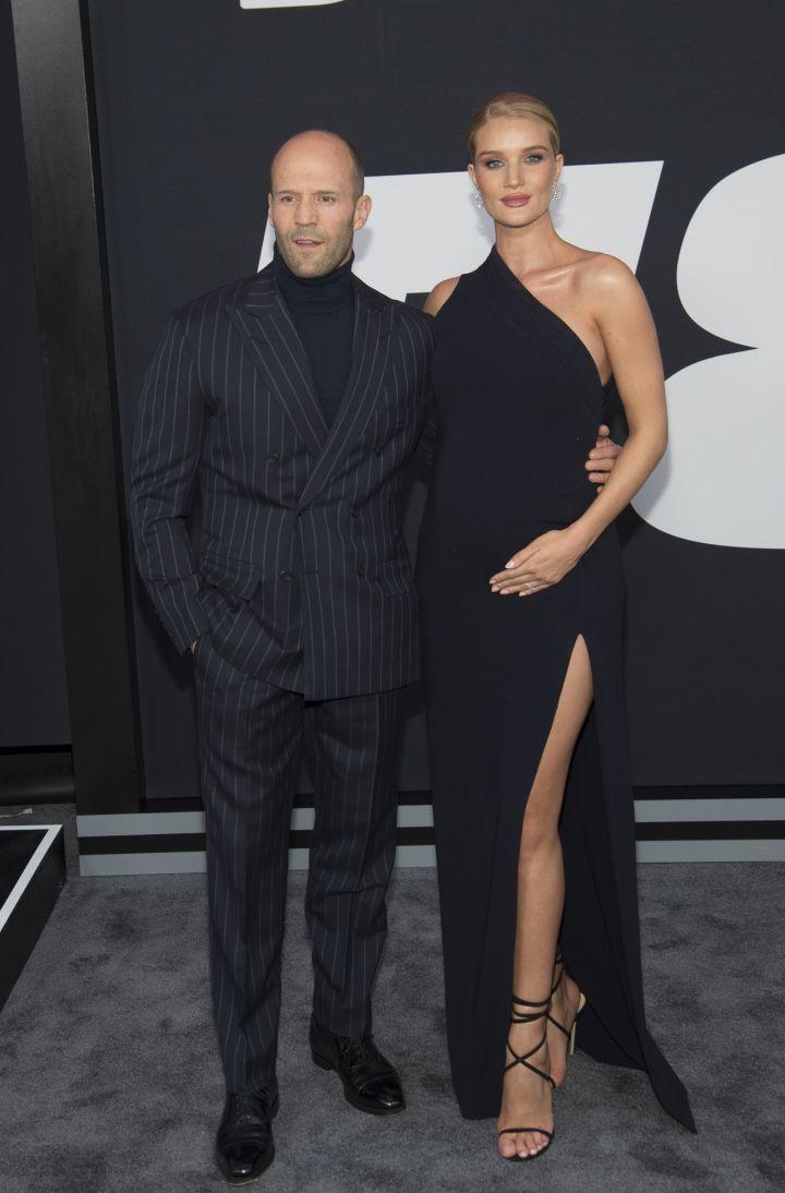 Jason Statham and Rosie Hunnington-Whiteley