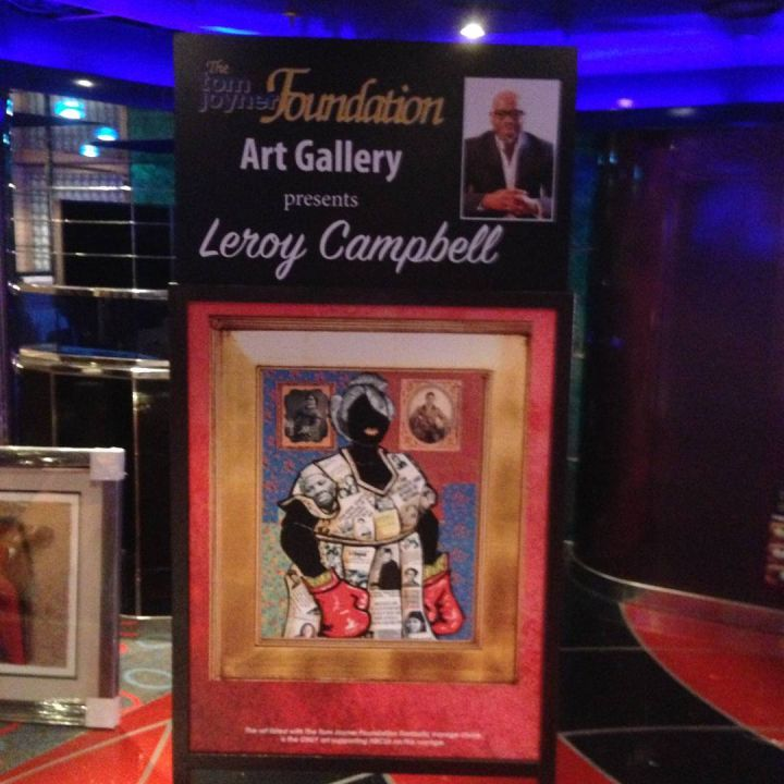 Leroy Campbell's legendary artwork can be purchased on FV'17!