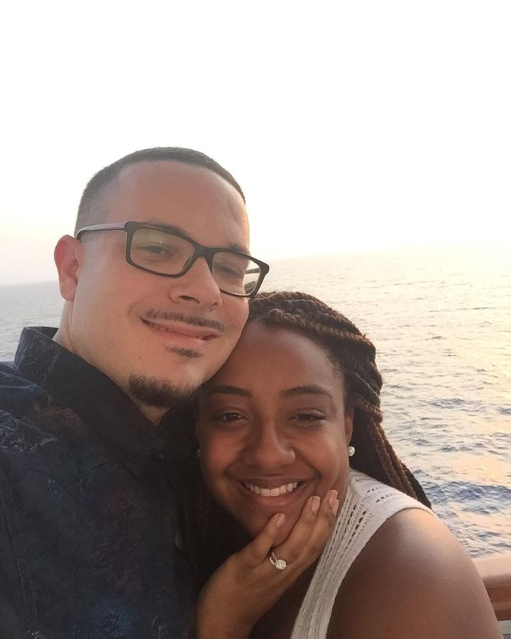 Look who made it on the cruise! Shaun King takes a break from saving the world with his lovely wife.