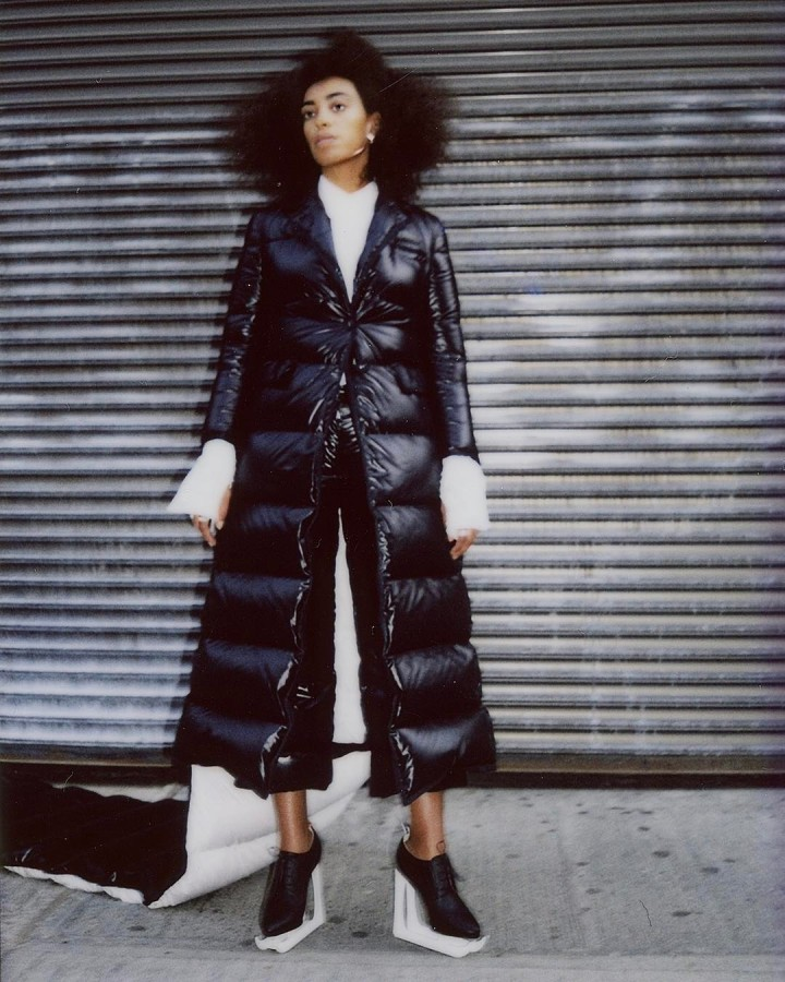 Solange in Thom Browne