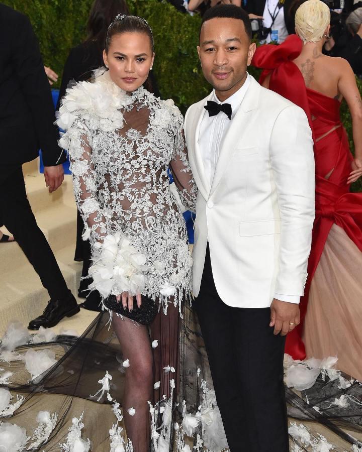 John Legend and wife Chrissy Teigen