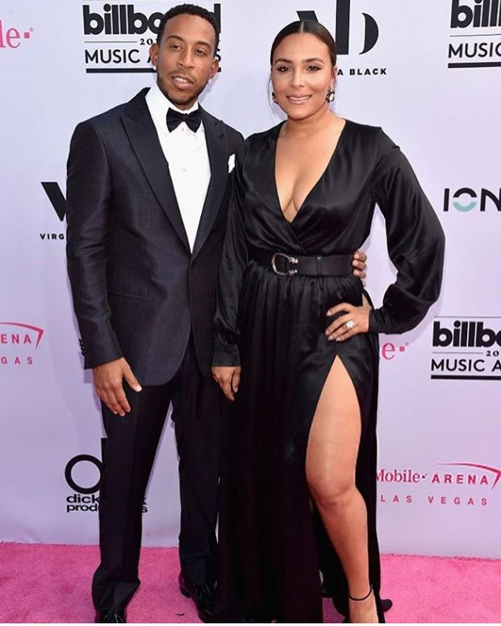 Ludacris and wife, Eudoxie