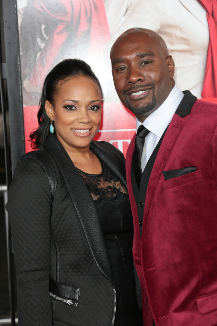 Morris Chestnut and Pam-Byse Chestnut