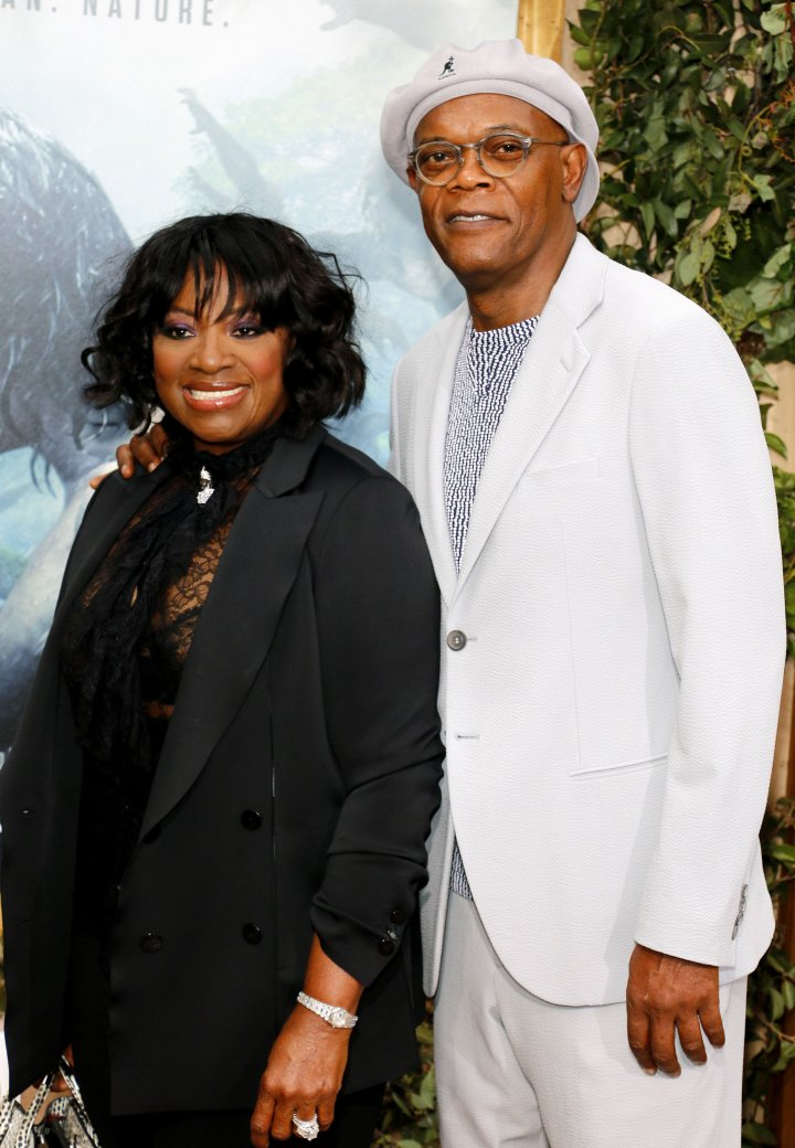 Samuel L. Jackson and LaTanya Richardson