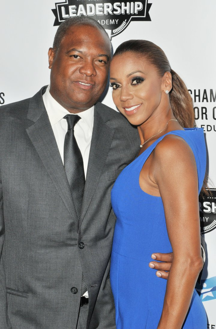 Rodney Peete and Holly Robinson Peet