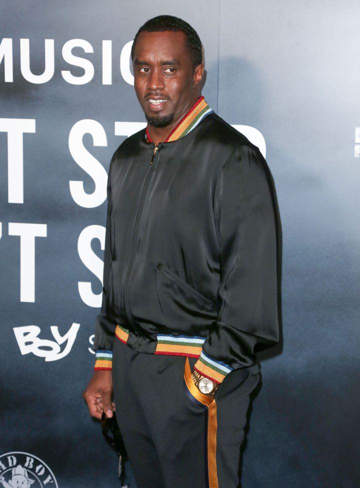 "Sean ""Diddy' Combs starred in 'A Rasin In The Sun'"