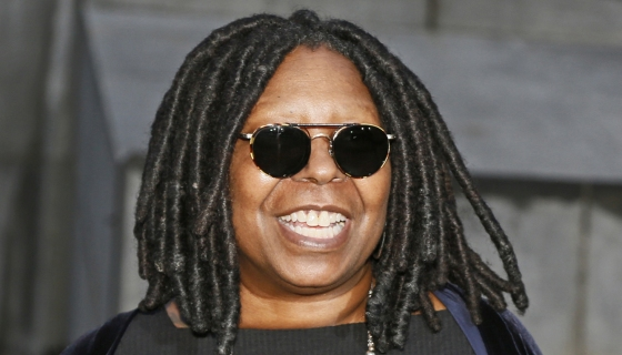 Whoopi Goldberg Reveals Her New Faux Silver Locs On 'The View' [Watch]