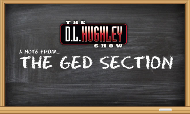 DL's GED Section: Where Is That Anger Now?