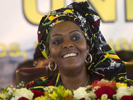Grace Mugabe Gets Diplomatic Immunity, Returns To Zimbabwe