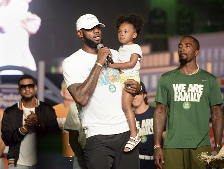 30323868bf5 LeBron James Says He  Stands With Nike  In Reference To Kaepernick