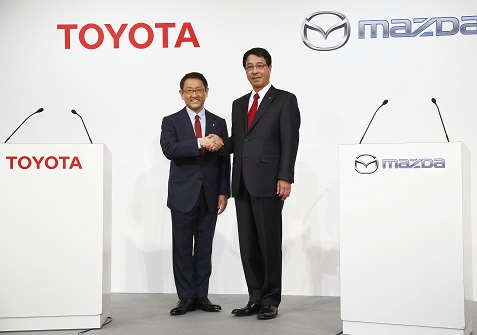 Toyota Mazda Plan Ev Partnership 1 6 Billion Us Plant
