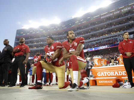 Poll: NFL Anthem Protest Divides People Along Political Lines