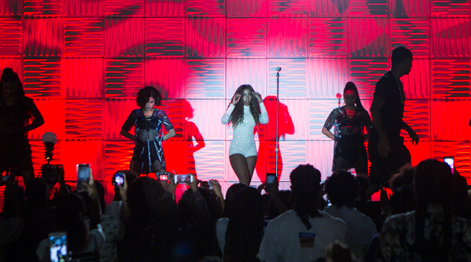 Sevyn Streeter Performs on the EXPO Stage